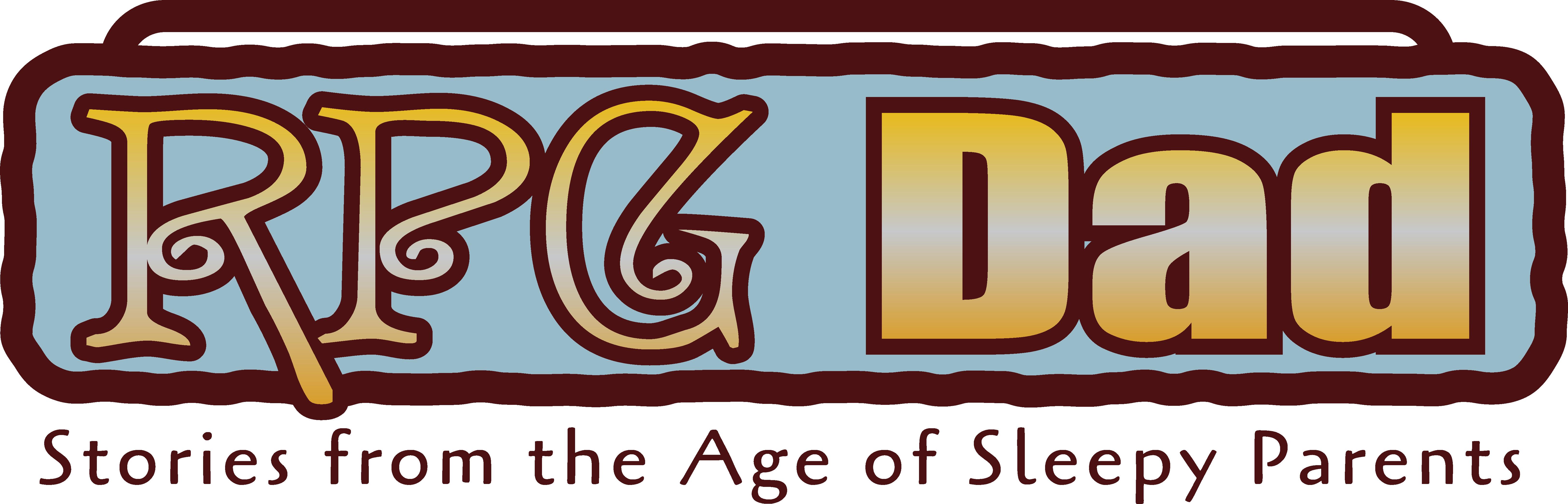 RPG Dad logo -fantasy color